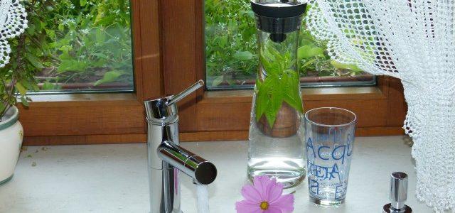 Leitungswasser trinken schont die Umwelt