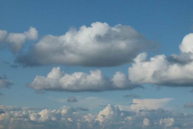 Der Himmel  –  immer wieder anders – wie das Leben!