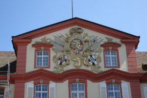 Fassade des Barockschlosses Insel Mainau