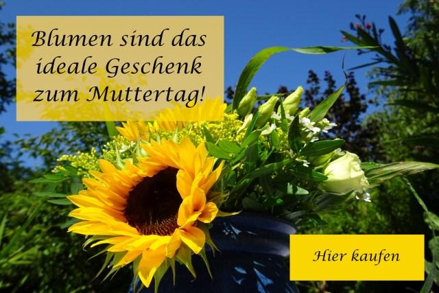Blumen sind das perfekte Geschenk zum Muttertag